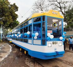 Tram restart: Trials begin on restored Rajabazar-Howrah route