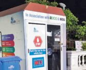 Drive-in Covid test centres in New Town