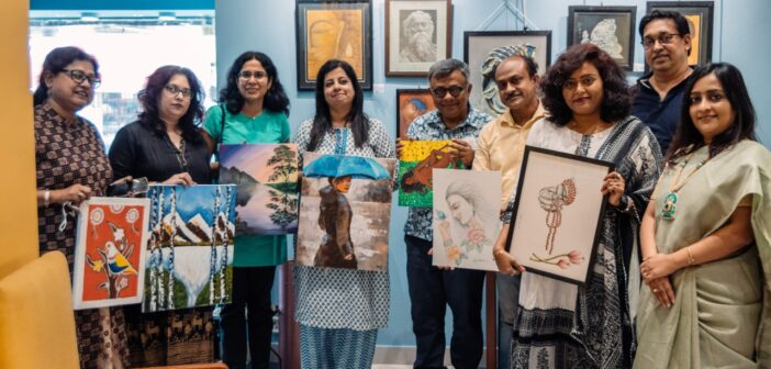 Tribe Cafe's The Live Art session unites artists in Kolkata
